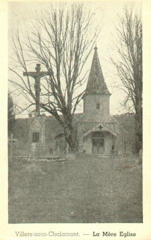Villers-sous-Chalamont-Mere Eglise hiver